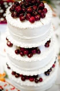 wedding photo - 25 وصفات الكرز - فطيرة، كعكة، كب كيك، فطيرة الجبن، Cobler والكوكيز
