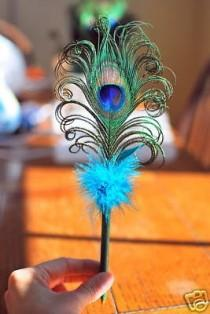 wedding photo - Peacock Pen Ich liebe die Locken!