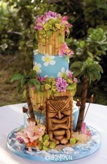 wedding photo - Гавайская Свадьба