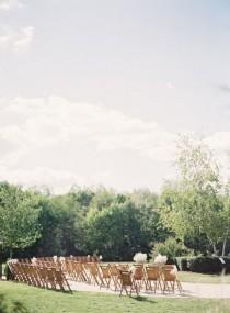 wedding photo - Outdoor Indiana Ceremony Venue