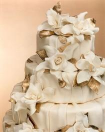 wedding photo - Wedding, Cake, Gold