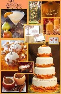 wedding photo - Orange Wedding