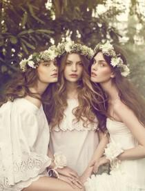 wedding photo - Flower Crowns