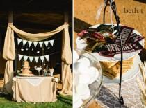 wedding photo - Draping By Buttercups Floral Design.