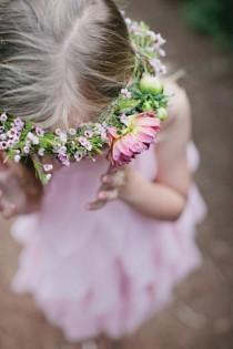 wedding photo - Цветочница / Цветочный Венок