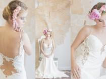wedding photo - Backless Wedding Dress Spotlight: Galia Lahav's Saffron Gown