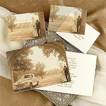 wedding photo - Vintage Wedding Invitations