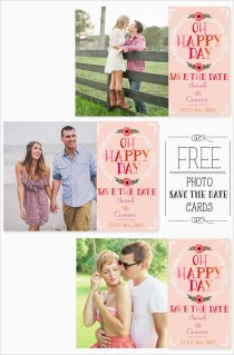 wedding photo - Free Photo Save The Date Cards