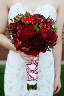 wedding photo - DIY الأحمر والأبيض الزفاف