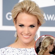 wedding photo - Carrie Underwood -great Hairdo