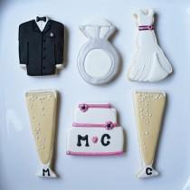 wedding photo - Engagement / Wedding Cookies