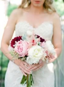 wedding photo - Pink And Red Wedding Ideas