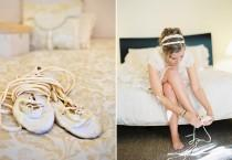 wedding photo - Nike Dunks und 5 Sonstige Kreative Hochzeitsschuh-Ideen