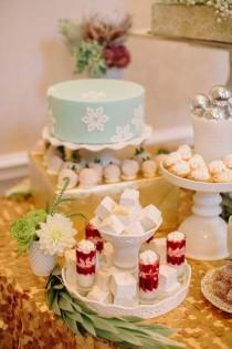 wedding photo - Soleil sur Mariages-Dessert tableau