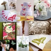 wedding photo - Schmetterlings-Hochzeits