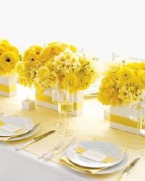 wedding photo - Jaune Inspiration de mariage