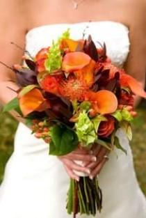 wedding photo - تقع زهور الزفاف