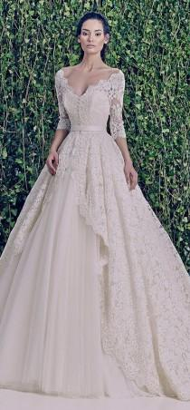 wedding photo - Zuhair Murad nuptiale F / W 2014-2015