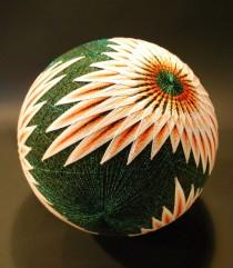 wedding photo - A Huge Collection of Embroidered Temari Spheres