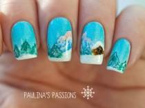 wedding photo - 37 Stunning And Colorful Nail Art