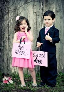 wedding photo - Sunshine On Weddings-Flower Girls,Ring Bearer