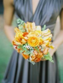 wedding photo - Orange Tulips