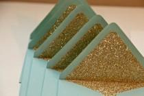 wedding photo - Glitter Envelopes!