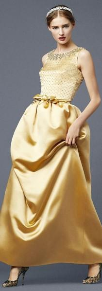wedding photo - Gowns...Glamorus Golds