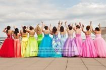 wedding photo - Mariage - Rainbow