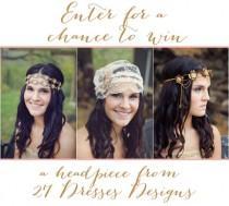 wedding photo - Weddings: Veils   Headpieces