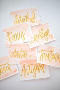 wedding photo - :: Table Numbers ::