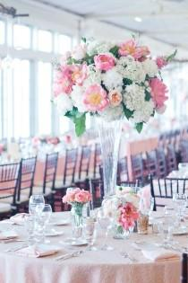 Wedding ideas centerpiece weddbook - Bouquet centre de table ...