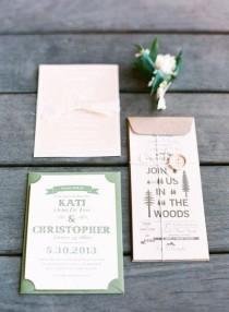 wedding photo - INVITATIONS & SAVE THE DATE