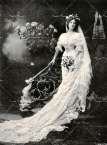 wedding photo - Victorienne ~ mariage Edwardian ... Days Gone By ...