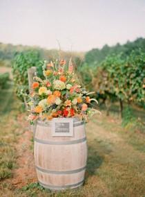 wedding photo - Orange Wedding Inspiration