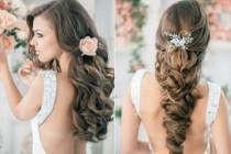 wedding photo - Peinados de novia con ondas primavera 2014