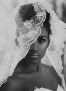 wedding photo - Mariages-mariée, Voile