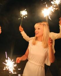 wedding photo - Twinkle Lights & Sparkly Hochzeiten