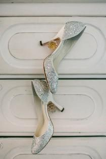 wedding photo - Mariages-mariée-chaussures