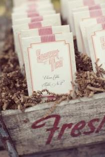 wedding photo - Weddings: Escort Cards