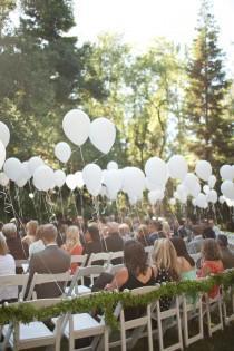 wedding photo - Outdoor Ceremony & Reception Ideas