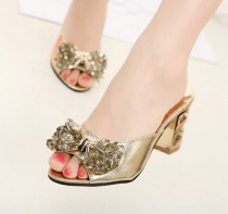 wedding photo - Fashion Style 2013 Summer Arrivals Flat Sandals Shoes White White SP0094