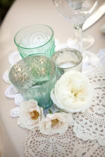 wedding photo - Napperon Décorations de mariage