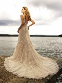 wedding photo - عشاق الدانتيل فستان الزفاف الإلهام