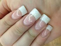 wedding photo - Bridal Wedding Nail Art
