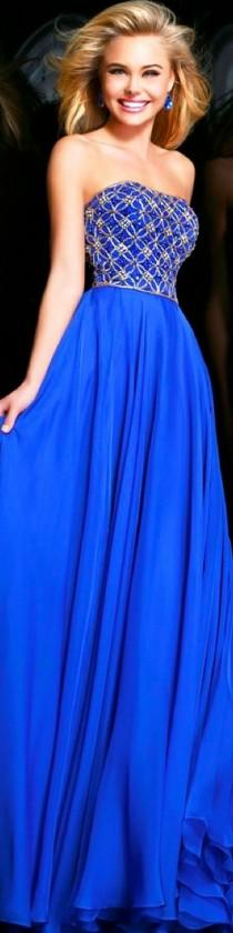 wedding photo - Gowns......Beautiful Blues
