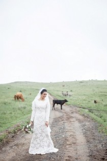 wedding photo - Charming Multicultural Wedding With Rustic Touches