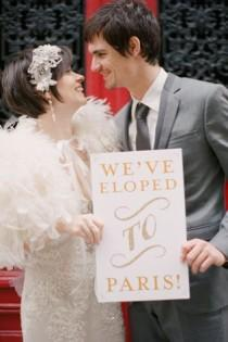 wedding photo - Parisian Weddings
