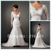 wedding photo - Long Sleeved & 3/4 Length Sleeve Wedding Gown Inspiration