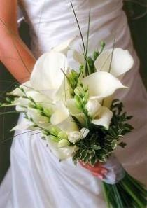 wedding photo - Bridal Bouquets White